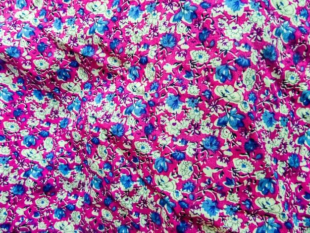 Art sur tissu de bébé et ware fleur flore fond magenta