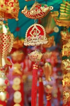 Article goodluck en vente durant le nouvel an chinois