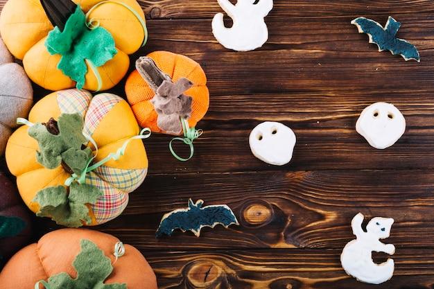 Articles de halloween avec des cookies