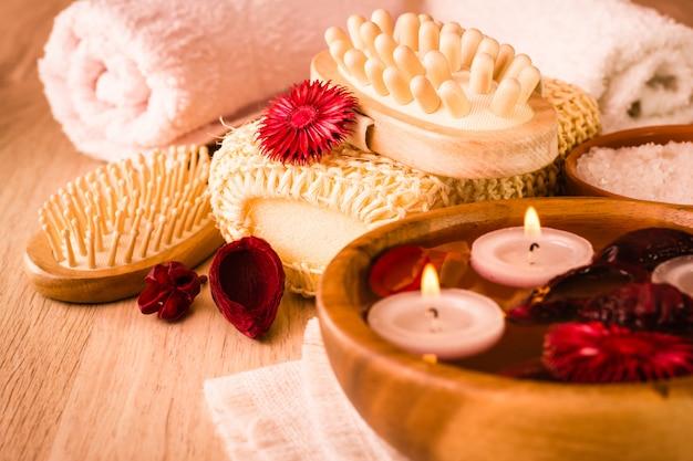 Articles pour traitements de spa