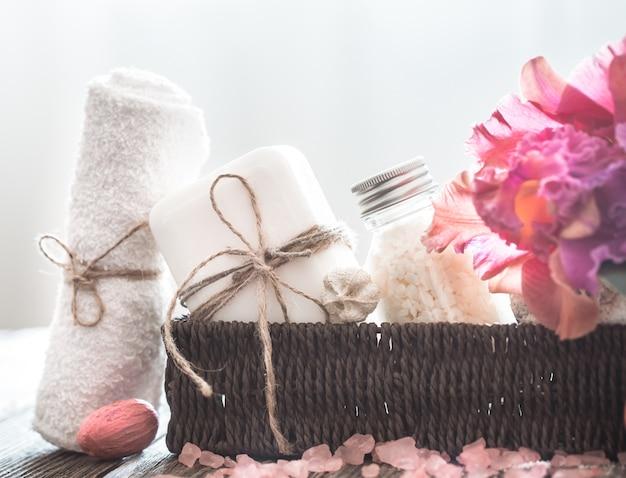 Articles de spa avec orchidée