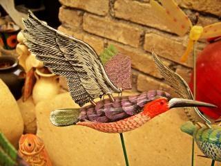 Artisanat mexicain, un gecko