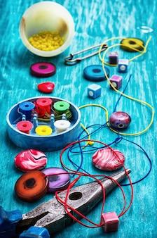 Artisanat avec des perles