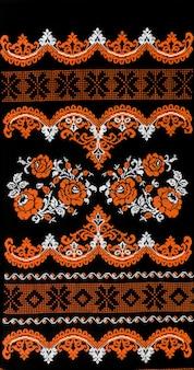 Arts et artisanat folkloriques ukrainiens de broderie folklorique