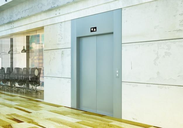 Ascenseur au bureau