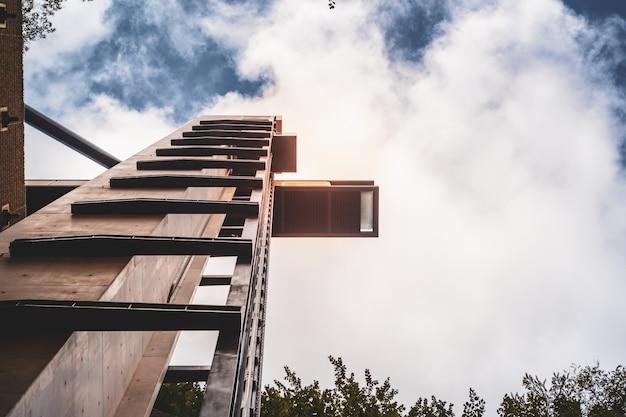 L'ascenseur panoramique moderne à pfaffenthal