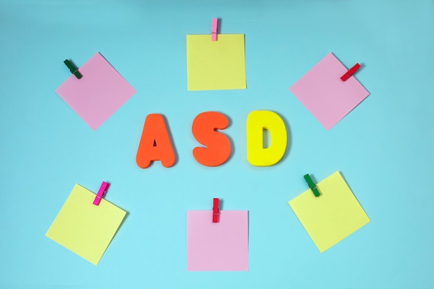 Asd. troubles du spectre autistique.