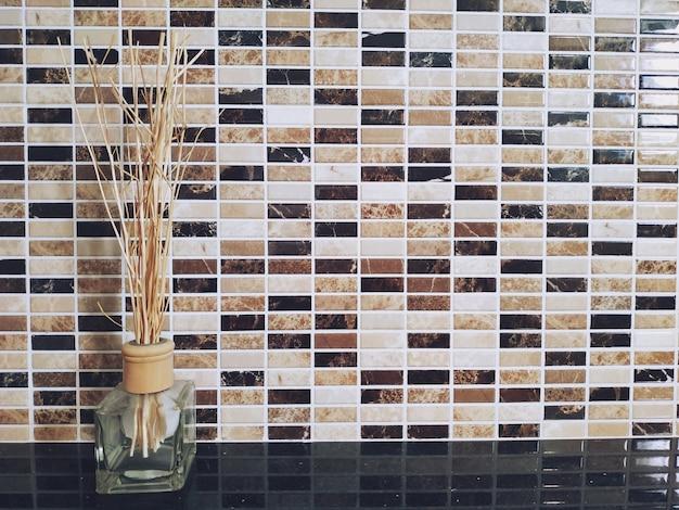 Assainisseur d'air de roseau aromatique, fond intérieur de la maison