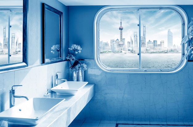 Assez rapide dans la salle de bain