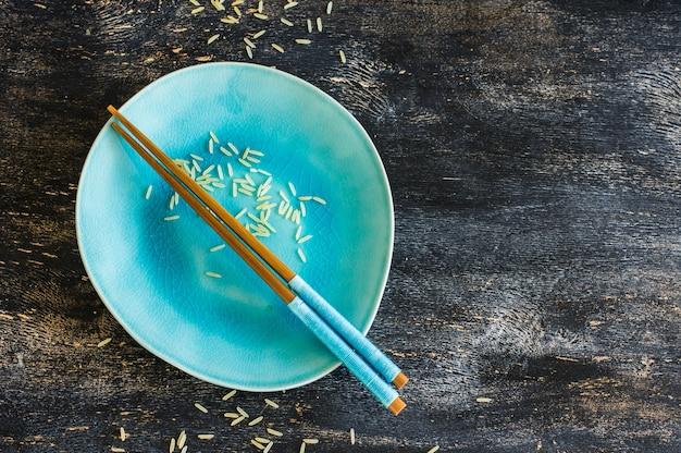 Assiette et riz