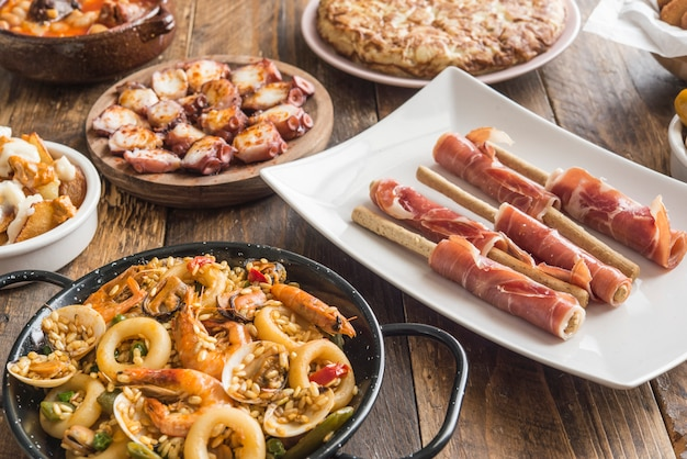 Assiettes espagnoles