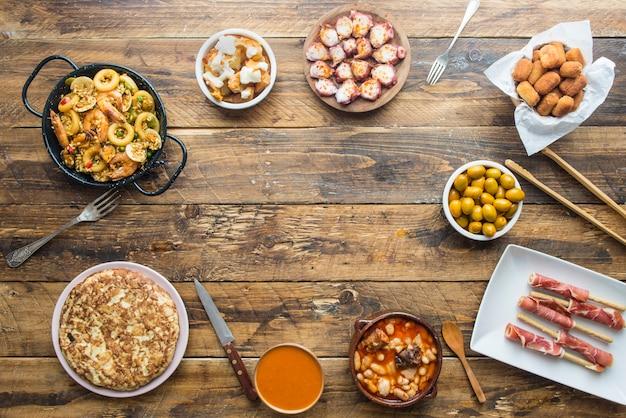 Assiettes typiques en espagne