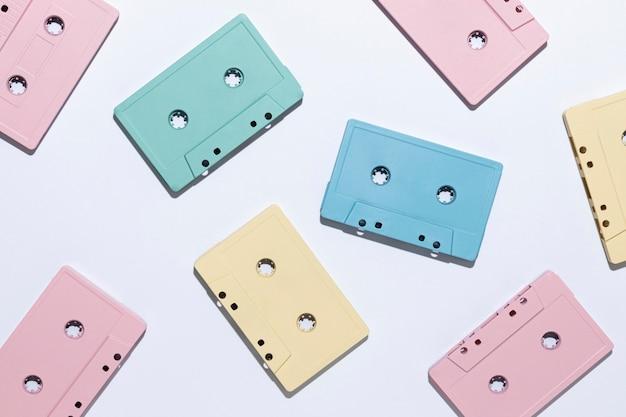 Assortiment de cassettes vintage