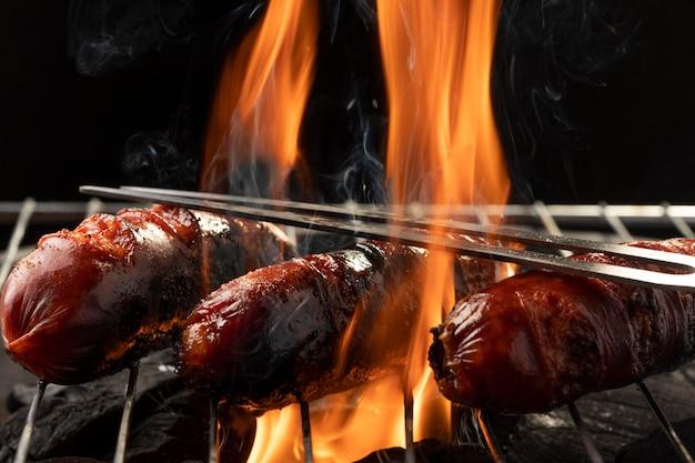 Assortiment de chorizo traditionnel savoureux