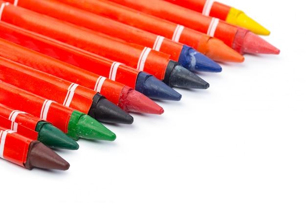 Assortiment de crayons de couleur