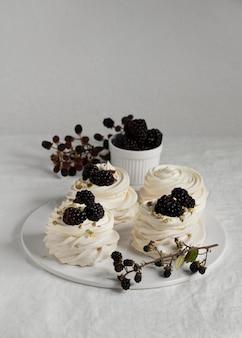Assortiment de délicieux desserts traditionnels