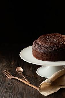Assortiment de délicieux gâteau au chocolat