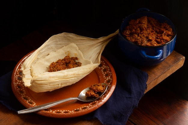 Assortiment De Délicieux Tamales Traditionnels Photo Premium