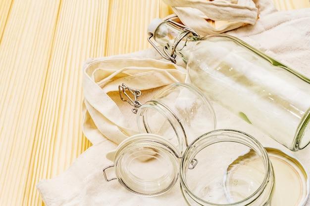 Assortiment d'emballage écologique