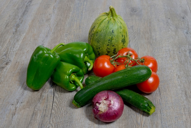 Assortiment de légumes de saison