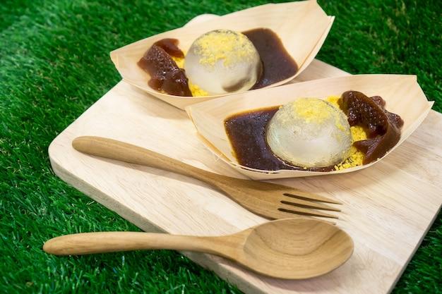Assortiment mizu shingen mochi