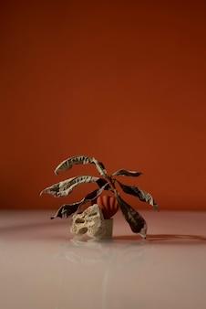 Assortiment de natures mortes d'automne