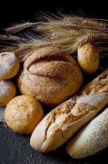 Assortiment de pain au four