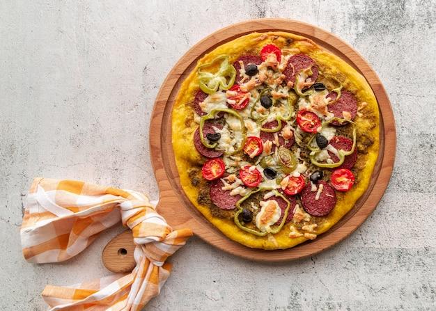 Assortiment de pizzas traditionnelles savoureuses