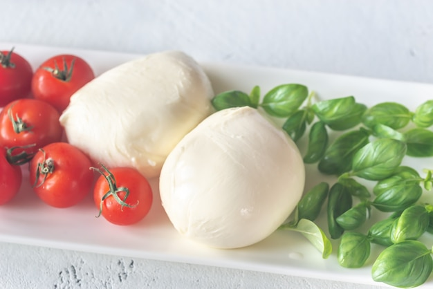 Assortiment de plats italiens