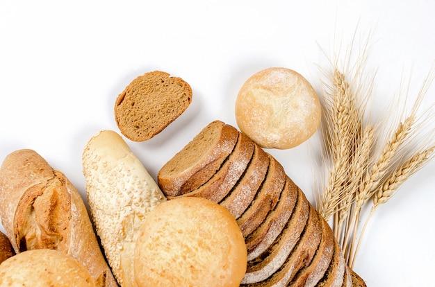 Assortiment de produits de boulangerie