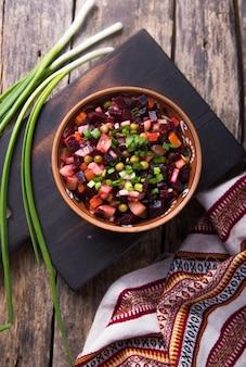 Assortiment de salade de légumes