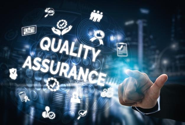 Assurance qualité et concept de contrôle de la qualité.