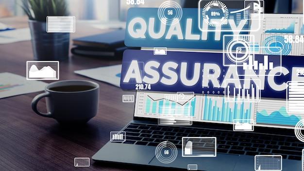 Assurance qualité qa et contrôle qualité conceptuel
