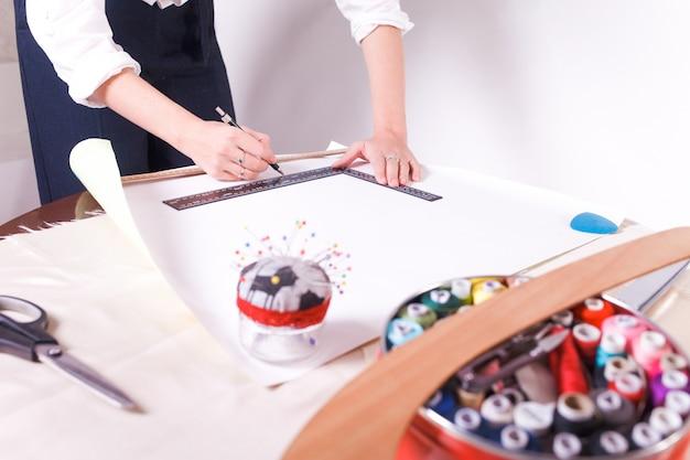 Atelier de couture.