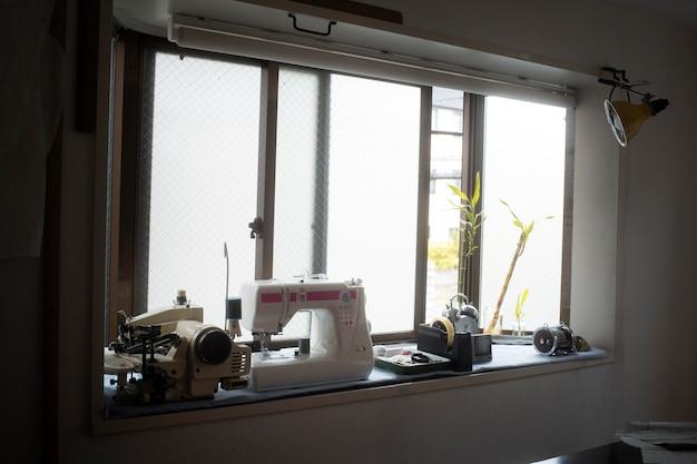 Atelier d'éléments de couture