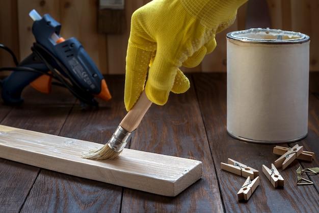 Atelier avec outils