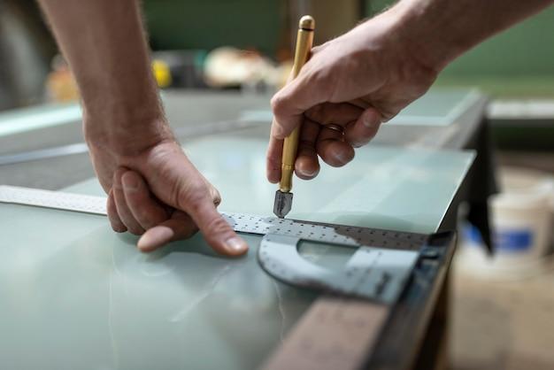 Atelier de travail artisanal créatif