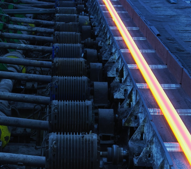 Atelier d'usinage de métal chaud