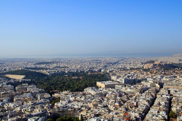 Athènes est la capitale de la grèce et l'une des plus anciennes villes du monde, athènes, grèce.