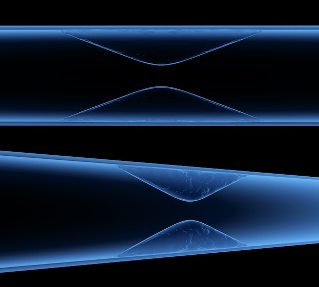 Athérosclérose aux rayons x de rendu 3d avec du sang de cholestérol ou de la plaque dans le vaisseau cause de la maladie coronarienne