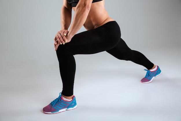 Athlète féminine en tenue de sport