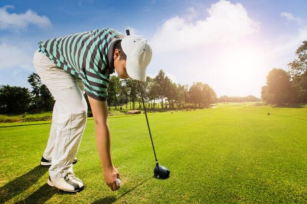 Les athlètes sont des terrains de golf
