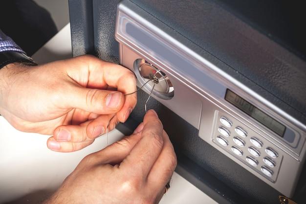 Atteinte à la sécurité - concept de prélèvement sécurisé