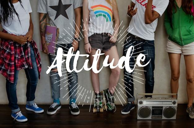 L'attitude est-ce que tout est positif?