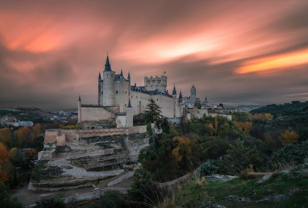 L'aube sur le château