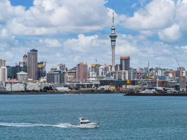 Auckland city skyline, nouvelle-zélande