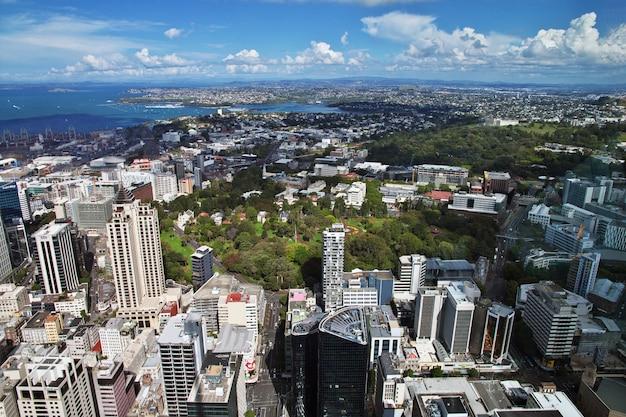 Auckland est une belle ville en nouvelle-zélande