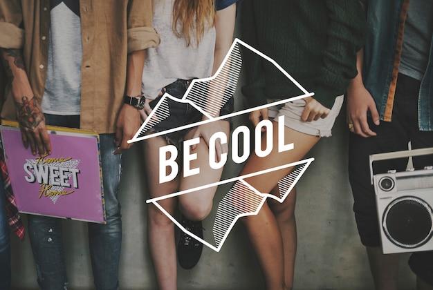 Audio be cool amitié rétro