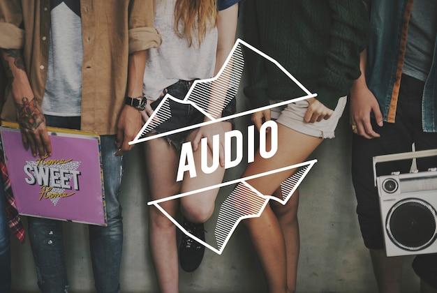 Audio be cool friendship rétro