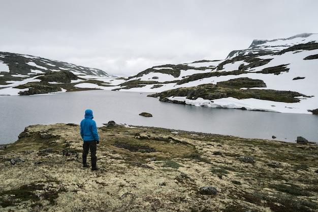 Aurlandsfjellet - route panoramique en norvège
